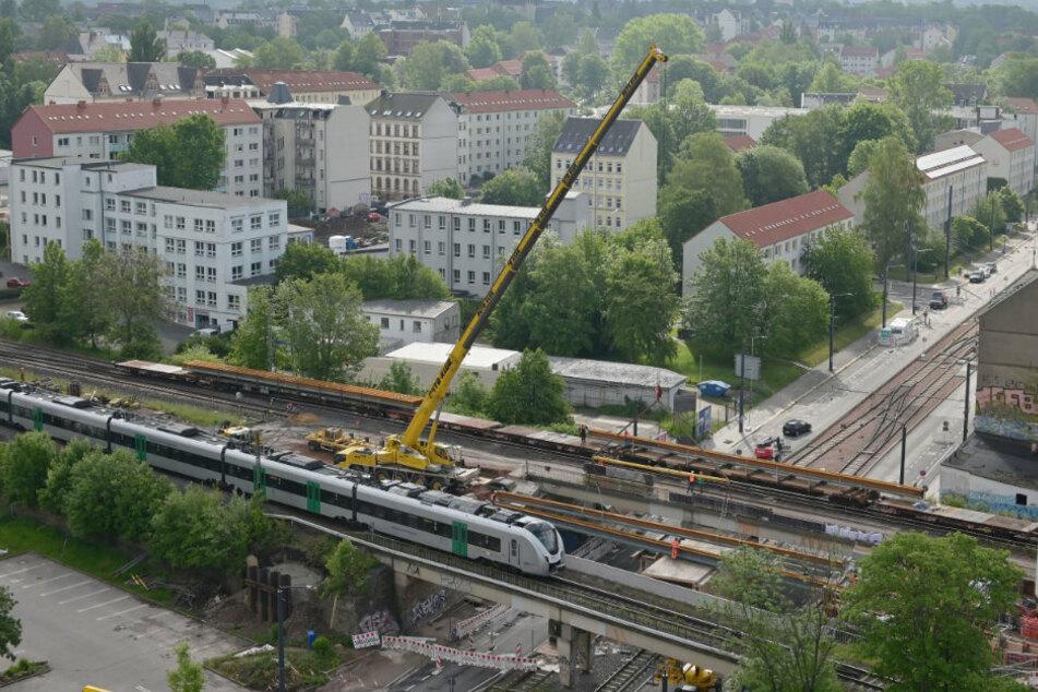 Chemnitz: Neues Korsett für Bernsdorfer Brücke
