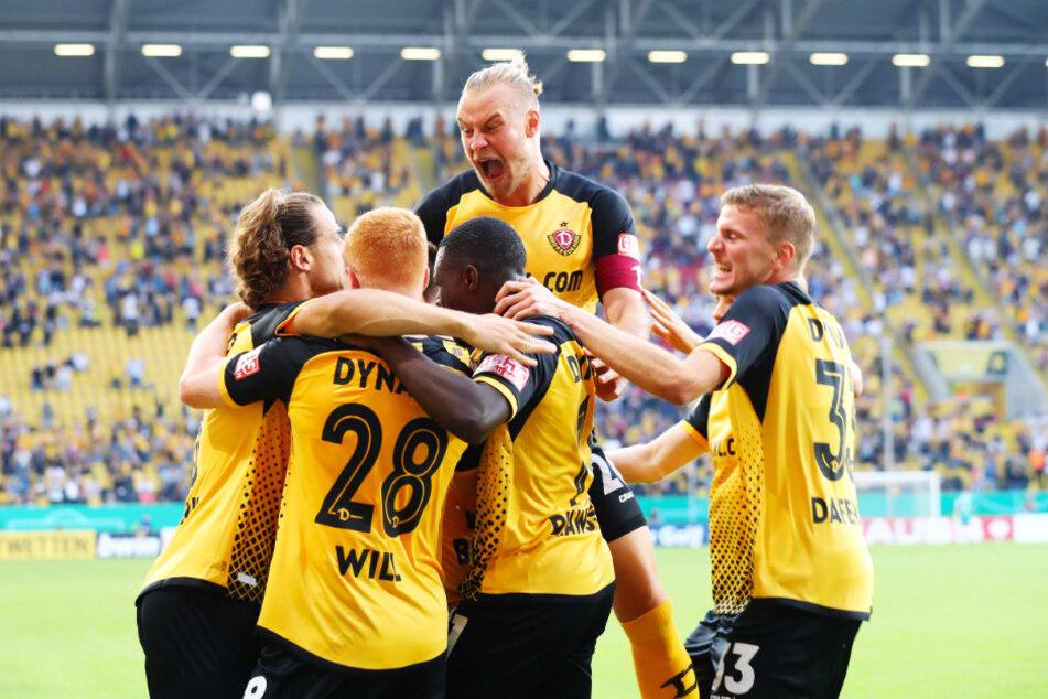 Dank großem Kampf, großer Effektivität und Mentalität warf Dynamo den HSV verdientermaßen aus dem DFB-Pokal!