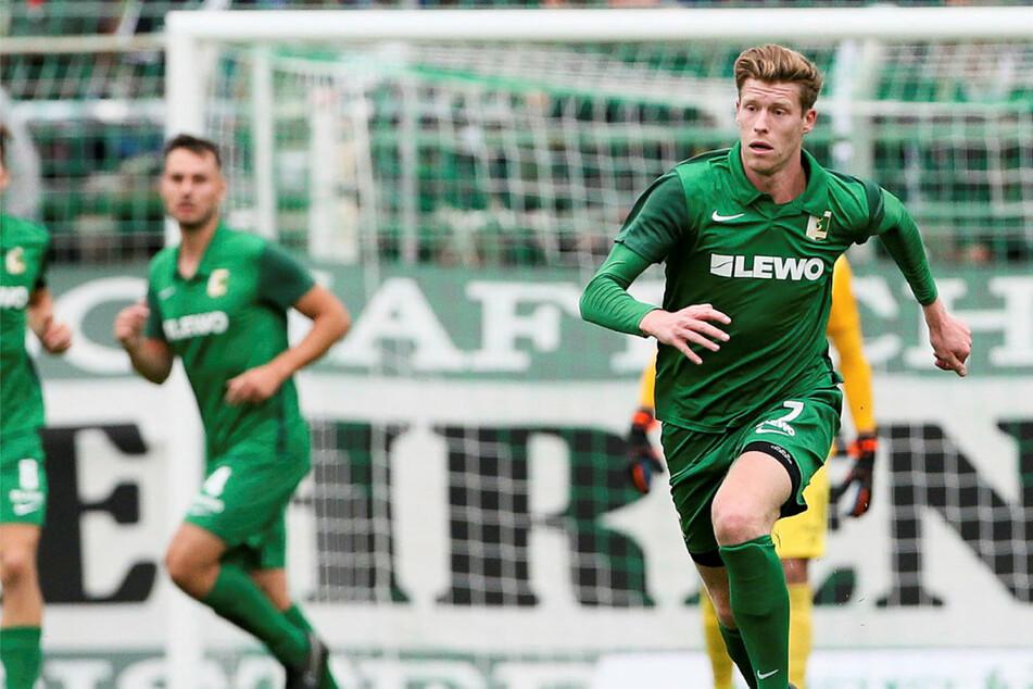 Alexander Bury erzielte beim Kanter-Testspielsieg gegen den 1. FC Zeitz drei Tore. (Archivbild)