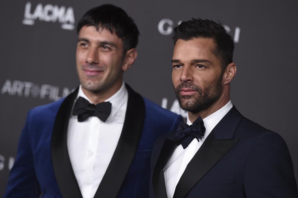 Ricky Martin (49, r.) mit seinem Ehemann Jwan Yosef (37).