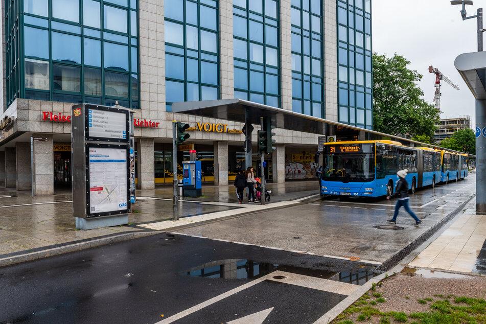 Gleisüberfahrt an Zenti gesperrt: Zahlreiche Umleitungen bei CVAG in Chemnitz