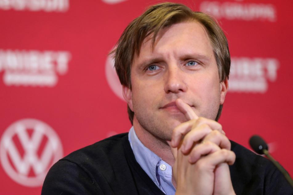 RB-Leipzig-Sportdirektor Markus Krösche (39).