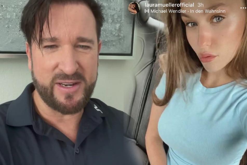 Laura Müller postet nach Monaten neues Selfie, Michael Wendler hat derweil Neuigkeiten