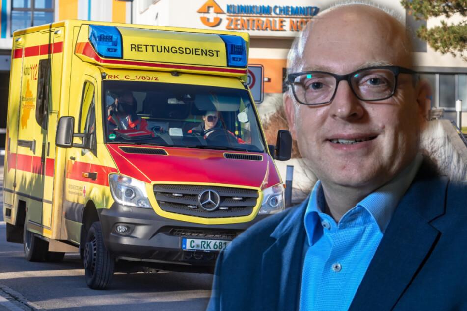 Warnt vor gefährlichen Zuständen am Klinikum: Oberbürgermeister Sven Schulze (49, SPD).