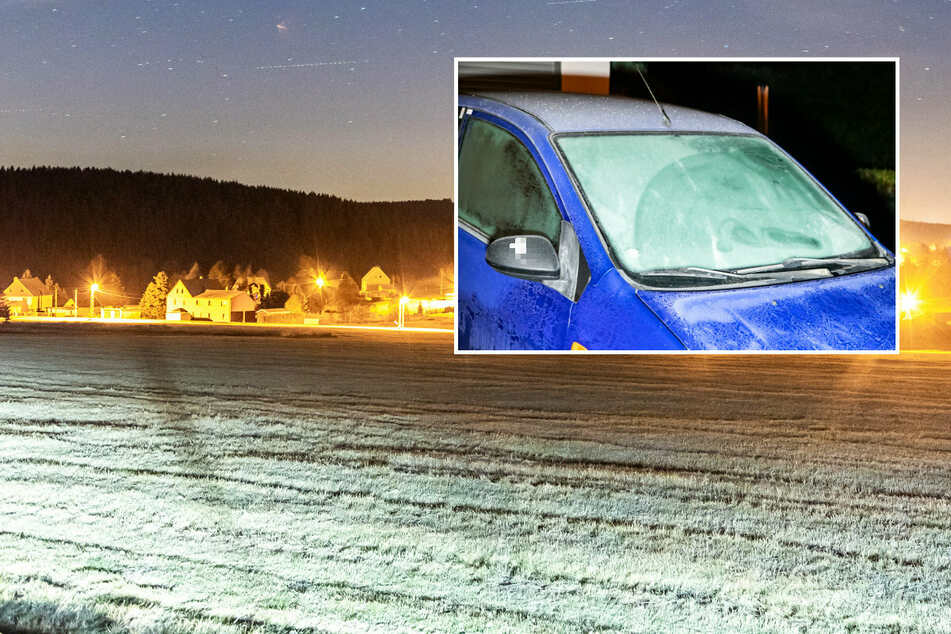 Frostige Temperaturen in Sachsen: Fällt schon bald der erste Schnee?