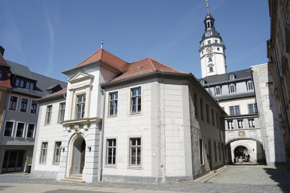 Blick auf das Rathaus der Stadt Gera.