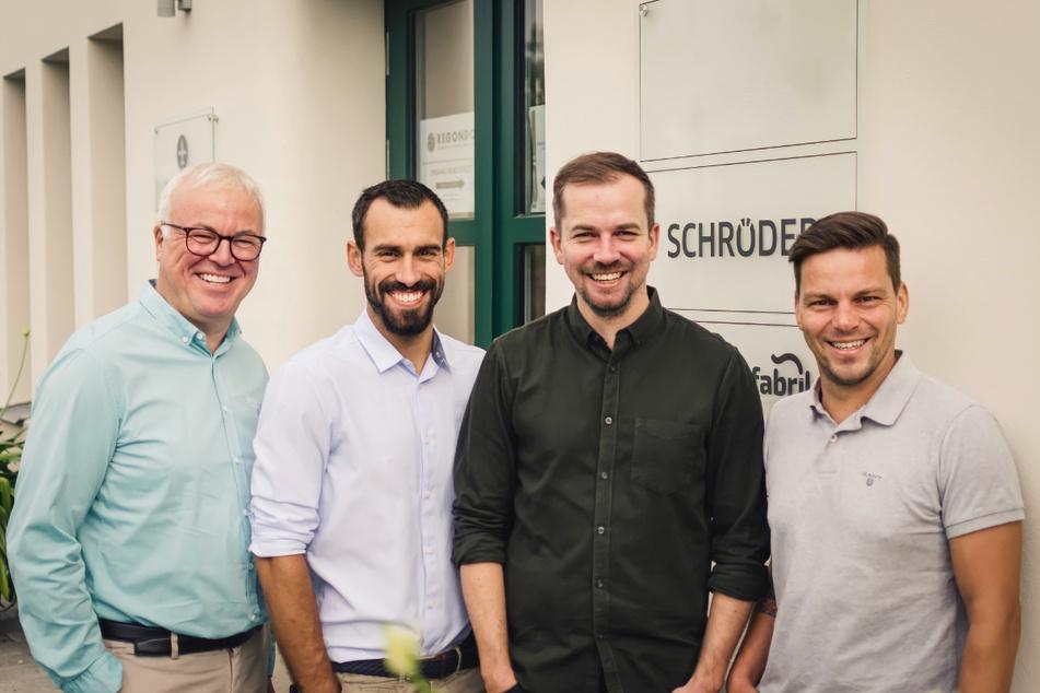 Frank Schröder (li.) und sein Team freuen sich auf tatkräftige Verstärkung.
