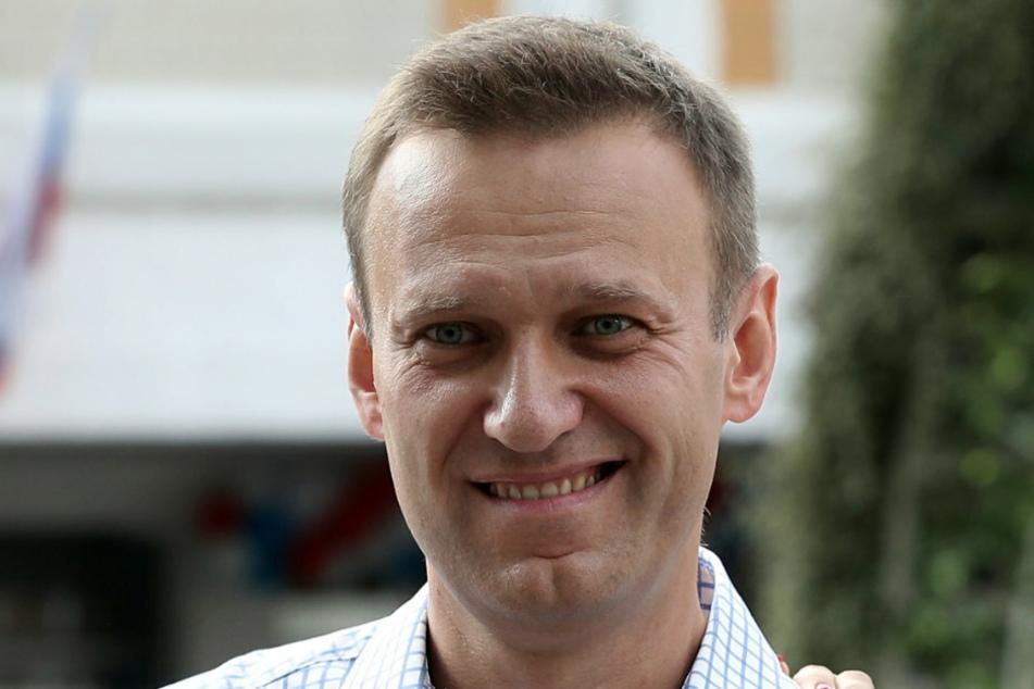 Alexej Nawalny (44) wurde mit einem Nervenkampfstoff der Nowitschok-Gruppe vergiftet.