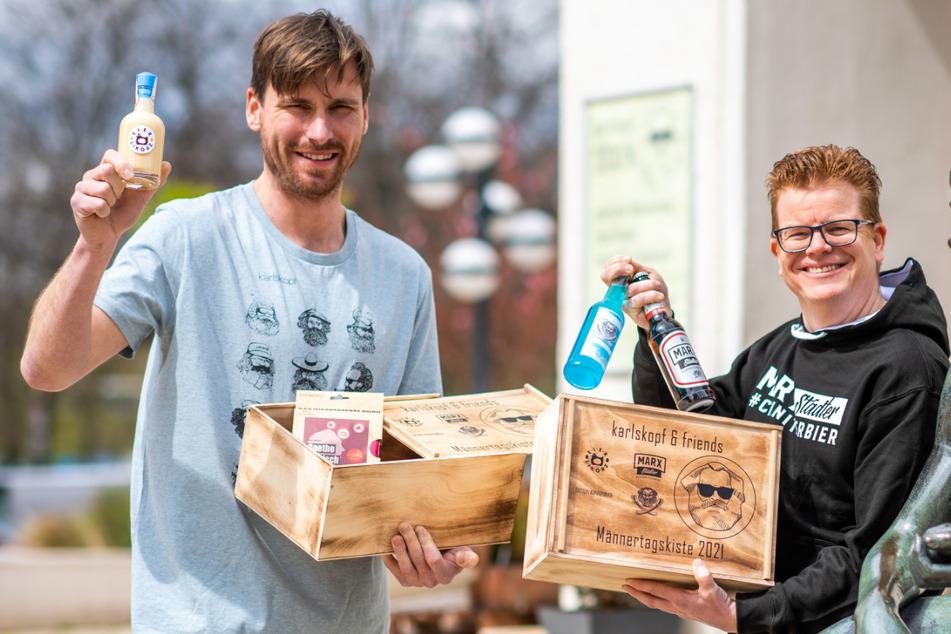 Chemnitz: Prall gefüllt mit Bier, Buch & Co. Diese Box ist nur für Männer
