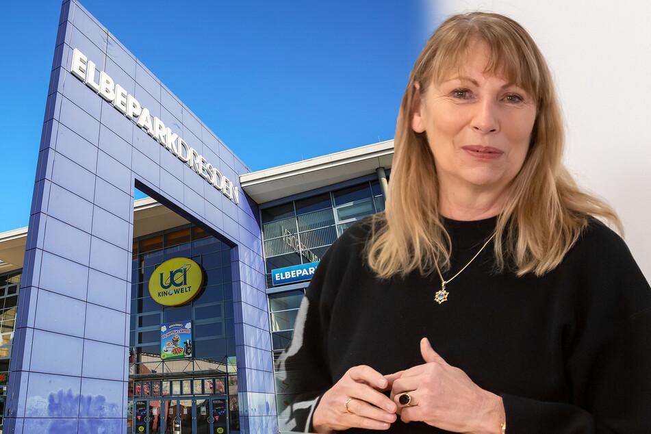 """""""Sie sehen mich lächeln."""" Ministerin Petra Köpping (62, SPD) freut sich über die Zahlen, warnt aber vor Leichtsinn. Das UCI-Kino im Dresdner ElbePark bot sich als Impfzentrum an."""