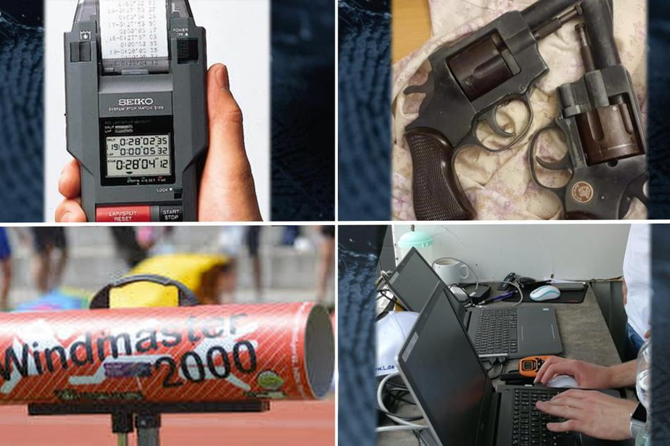 Die Diebe klauten Zeitmessgeräte, Schreckschusswaffen, Laptops und Windmesser.