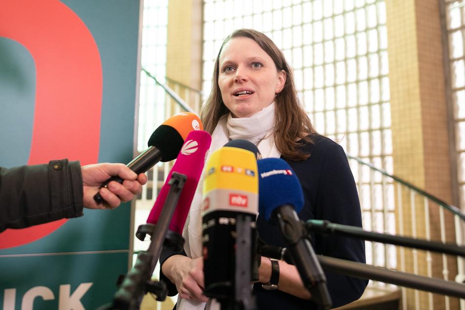 Melanie Leonhard (SPD), Gesundheitssenatorin von Hamburg hält die ausgeweitete Maskenpflicht für sinnvoll.