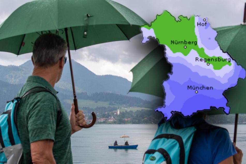 Schirm einpacken! So startet das Wetter in Bayern ins Wochenende