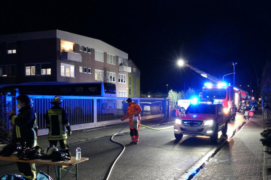 Brennendes Sofa verursacht Zimmerbrand in Asylunterkunft