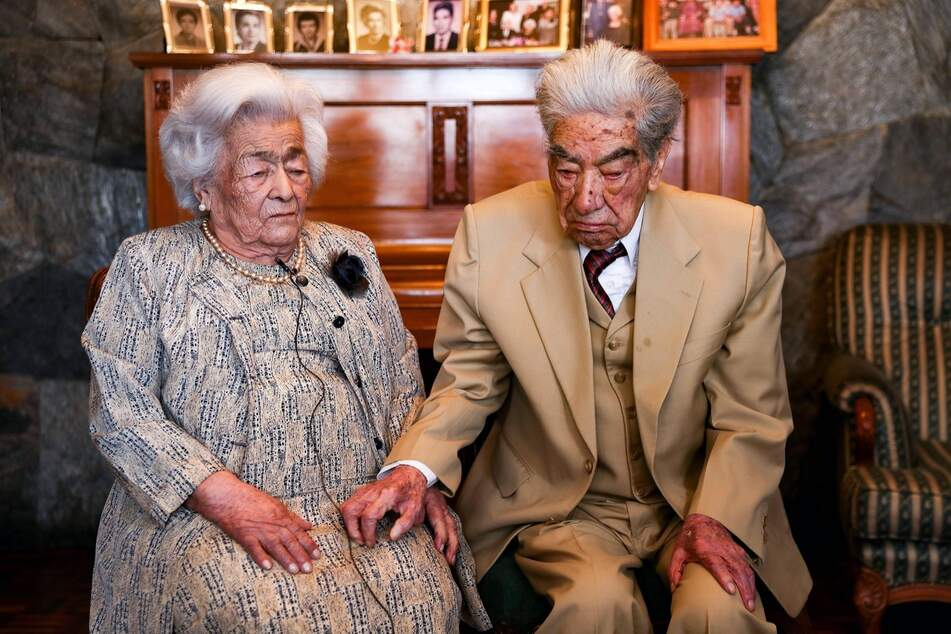 Julio César and Waldramina were married for nearly eight decades.