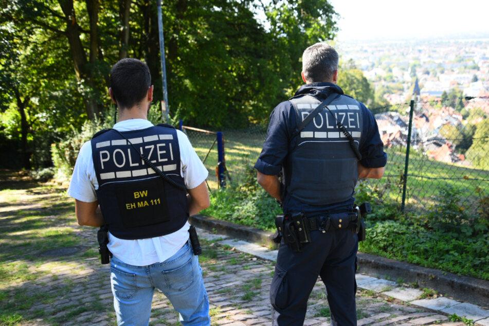 Polizei sucht mit Großaufgebot nach mutmaßlichem Messerstecher