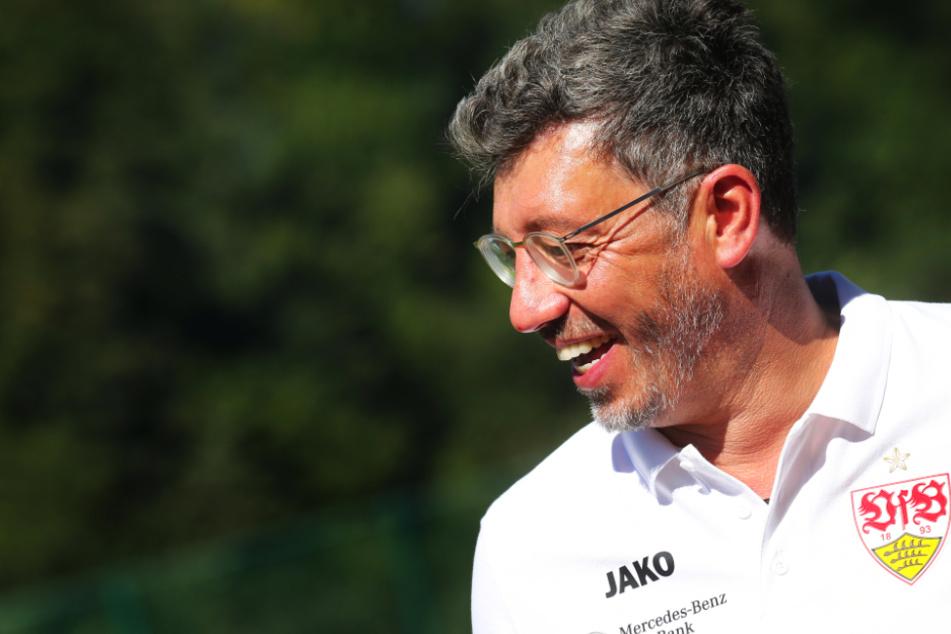 Claus Vogt (51) wünscht sich in der Zukunft ein Klubzentrum des VfB Stuttgart, das als kultureller Treffpunkt für den Gesamtverein mit all seinen Abteilungen fungieren soll.