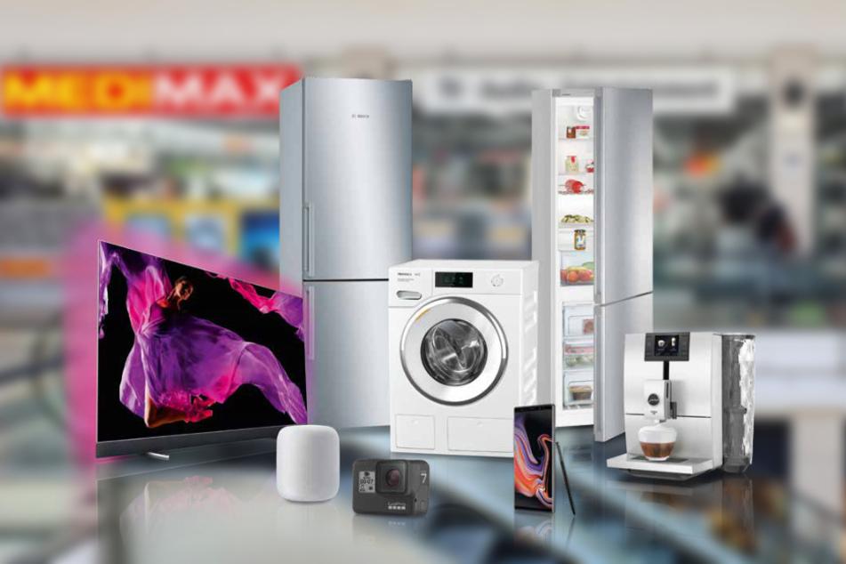 Darum könnt Ihr bis Samstag (22.5.) bei MEDIMAX Technik unglaublich günstig kaufen
