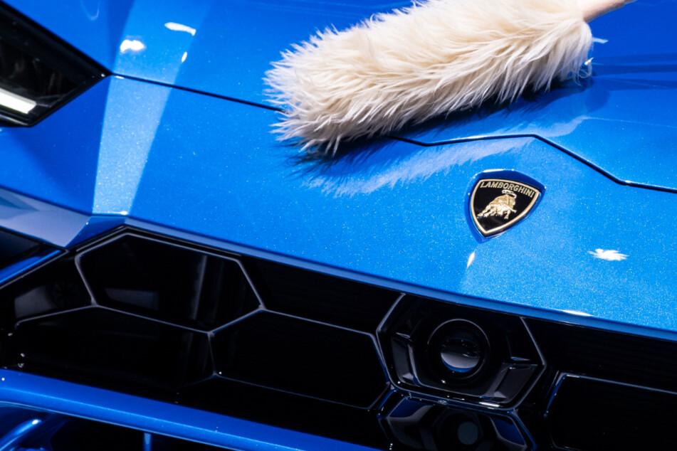 In Bayern wurden in Bayern gleich zwei teure Sportwagen von Lamborghini geschrottet. (Symbolbild)