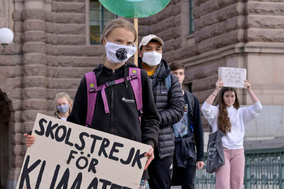 """Die Anführerin der weltweiten Klimaschutzbewegung """"Fridays for Future"""": Greta Thunberg."""