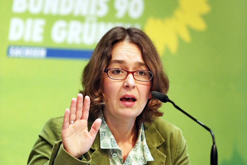 Claudia Maicher (42), Medienexpertin der Grünen.