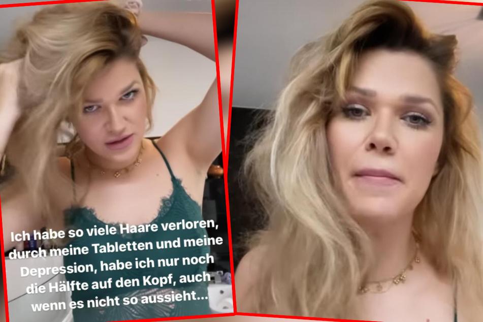 Die Depression von Sara Kulka (30) und die Tabletten, die sie dagegen nimmt, wirken sich mittlerweile auch auf ihre Haare aus, wie sie nun auf Instagram erklärte.