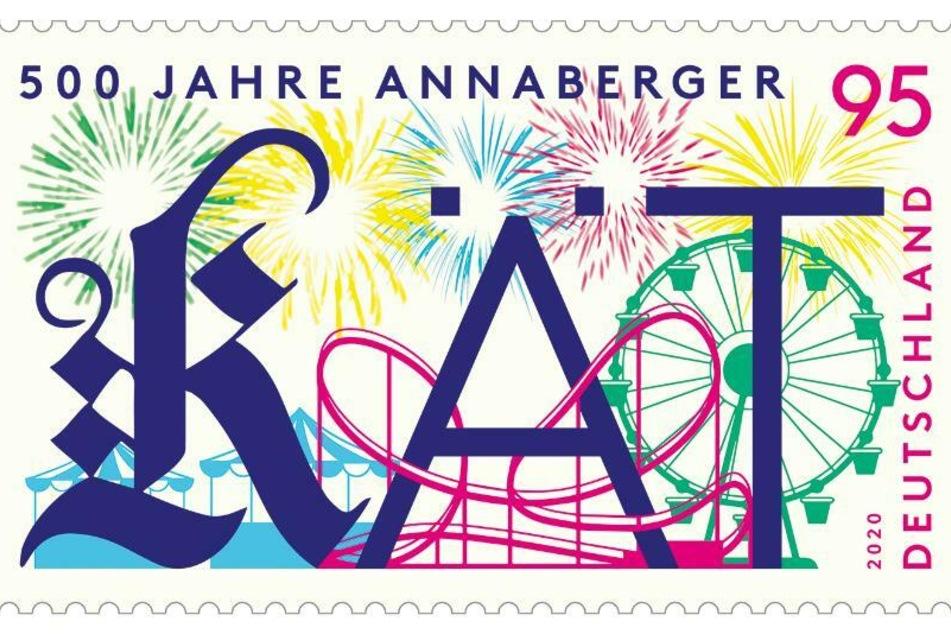 Am Donnerstag veröffentlichte das Bundesfinanzministerium eine Sonderbriefmarke zum 500. Jubiläum der Annaberger Kät.