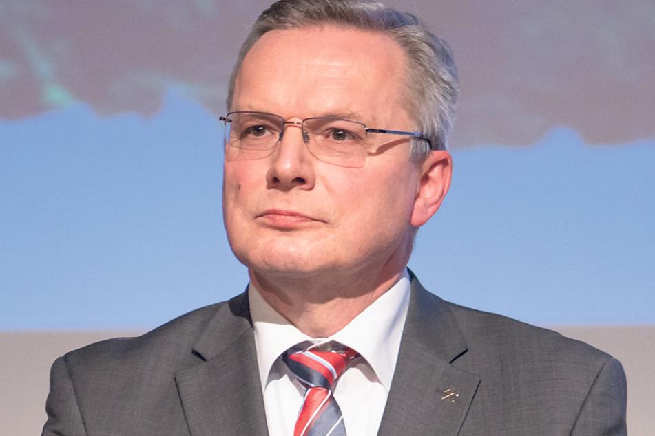 Michael Riedel (52) war Manager in der Wirtschaft, bevor er die Leitung des Welterbevereins übernahm