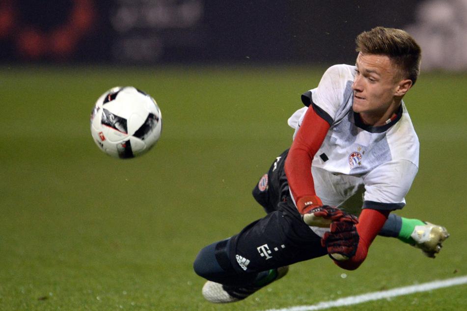 Christian Früchtl (20) gilt als großes Talent unter den deutschen Torhütern.