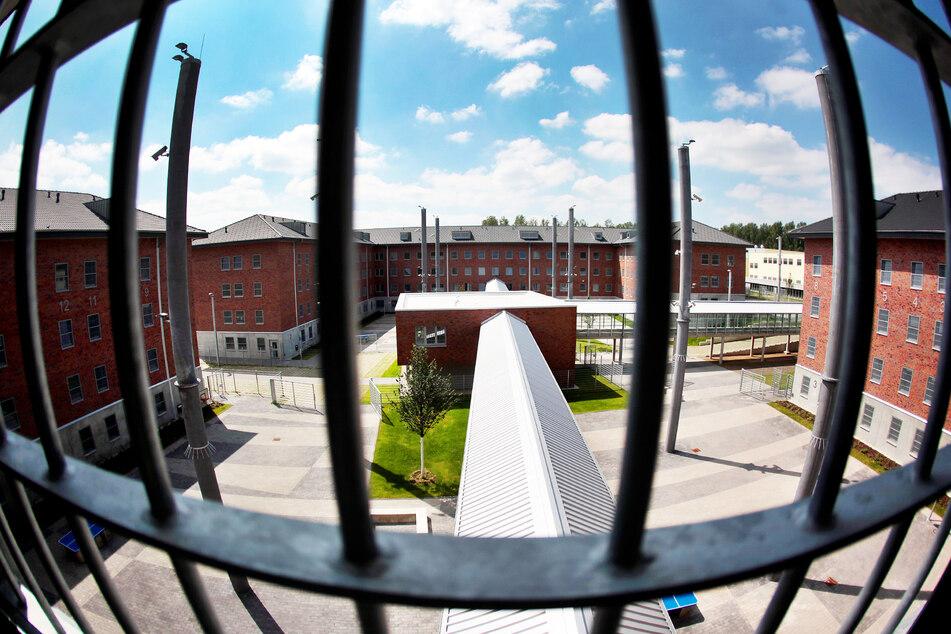 Blick aus einer Zelle in der Justizvollzugsanstalt Wuppertal-Ronsdorf.