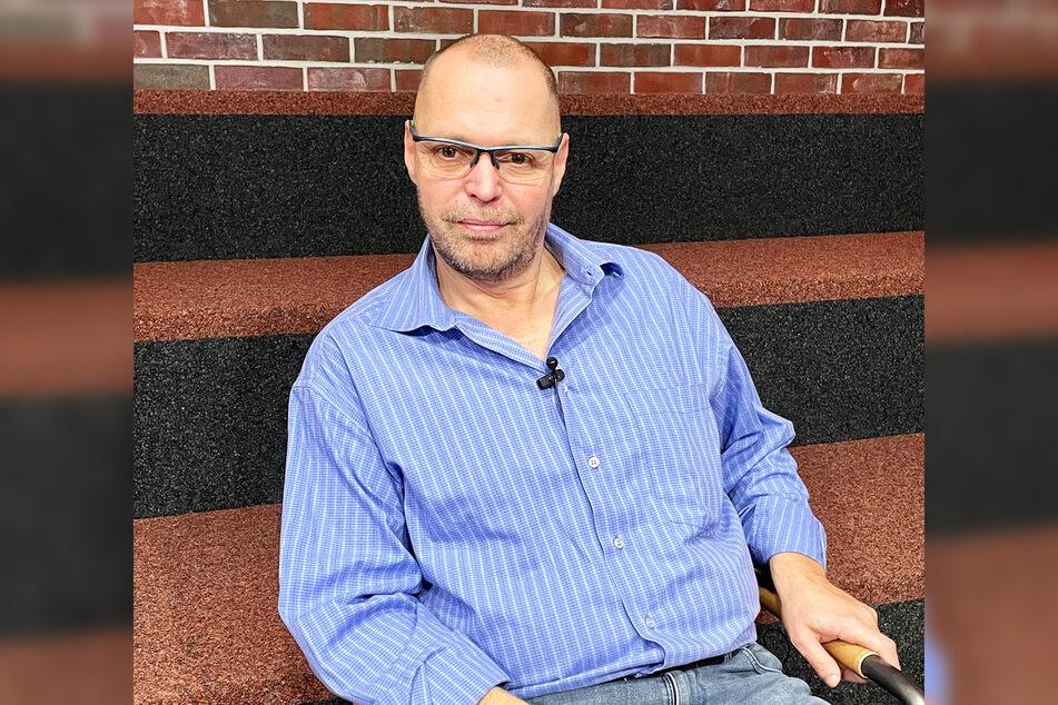 Gastronom Mario Zichner (50) gab seine Meinung in der BundesTAG24-Show zum Besten.