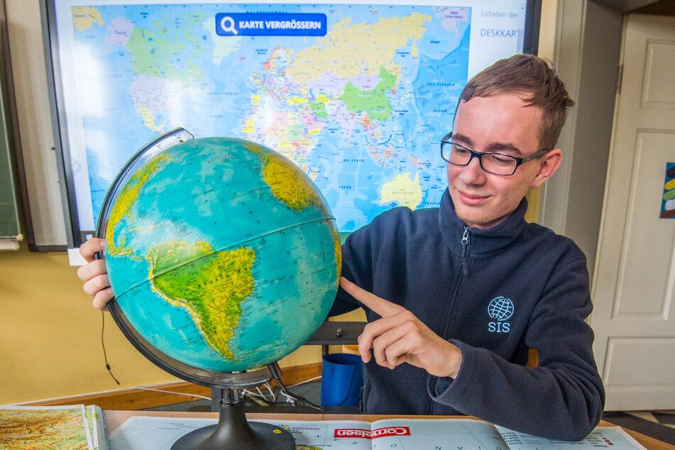 Erzgebirger gewinnt Olympiade: Leon ist Geografie-Meister
