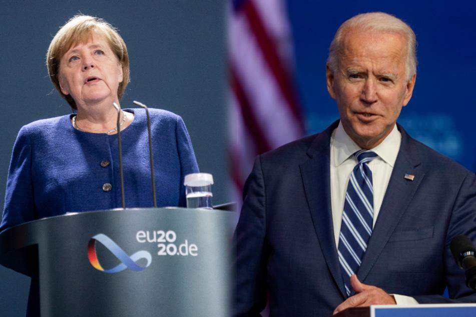 Joe Biden telefoniert mit Angela Merkel: Das ist das Ergebnis!