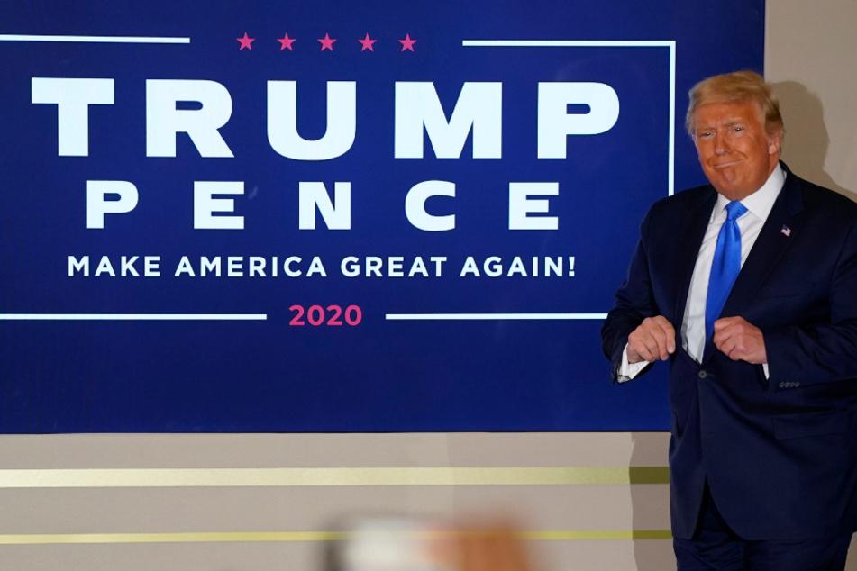 """Donald Trump beschwert sich über """"Betrug"""" und kündigt an, vor Gericht zu ziehen"""