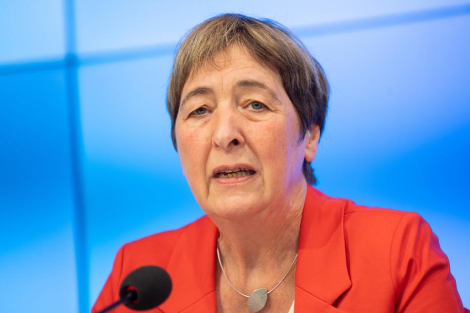 Die Vorsitzende der Gewerkschaft Erziehung und Wissenschaft (GEW), Doro Moritz.