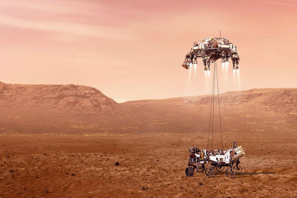 Countdown läuft! Nasa-Rover, der Leben auf dem Mars untersuchen soll, landet heute