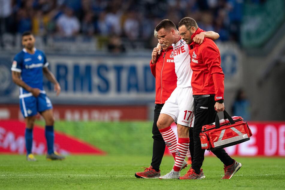 Im April 2019 verletzte sich Christian Clemens (28) bei einem Spiel für den 1. FC Köln.