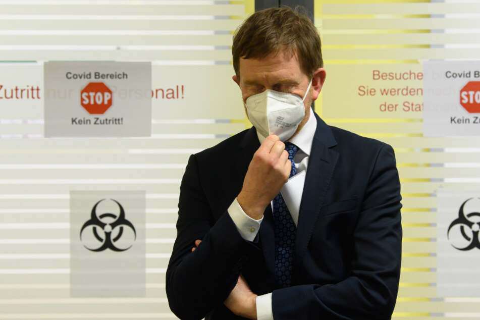 Sachsens Ministerpräsident schließt Lockdown für Betriebe und Nahverkehr aus
