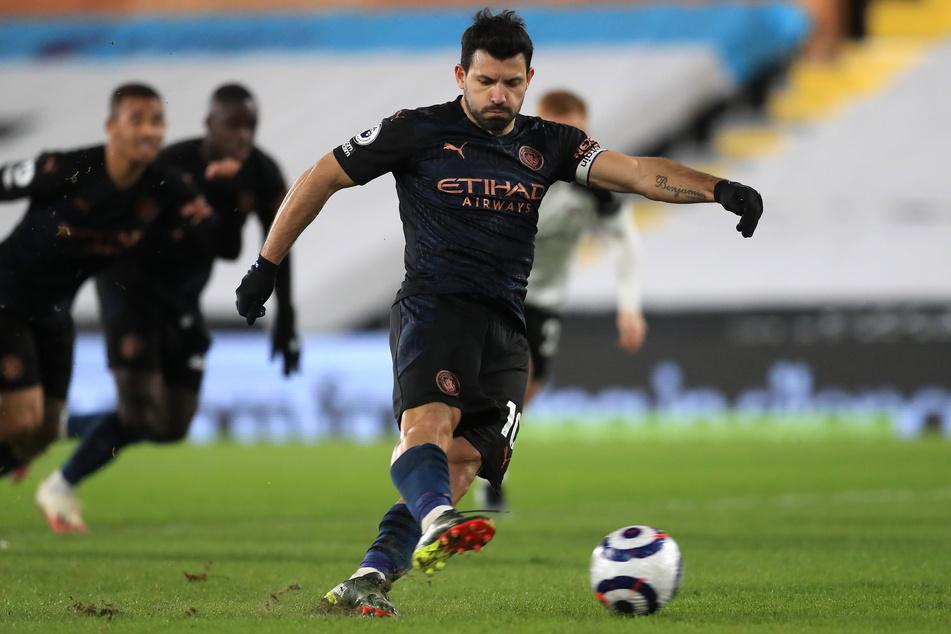 Nach zehn Jahren verlässt Sergio Agüero (32) Manchester City.