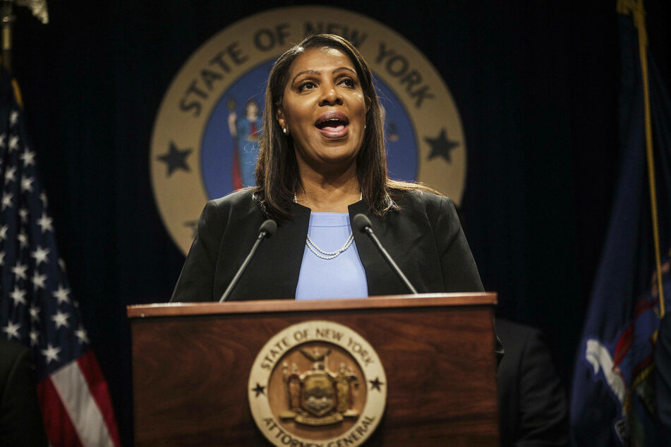 New York Attorney General Letitia James assumed office in January 2019.