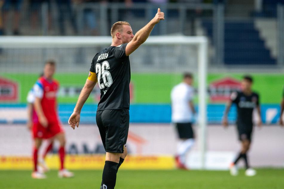 Sebastian Mai spielt seine zweite Saison bei Dynamo. Er ist von Beginn an Kapitän der Dresdner. Wie sein Bruder trägt er die Rückennummer 26.
