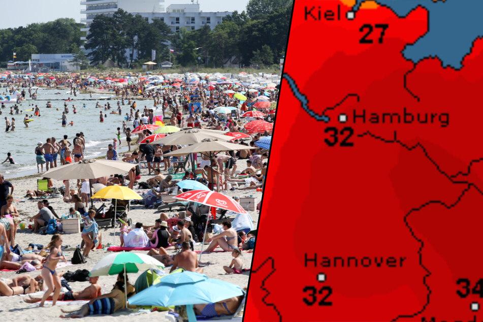Hitzewelle im Norden: Jetzt dreht der Sommer richtig auf!