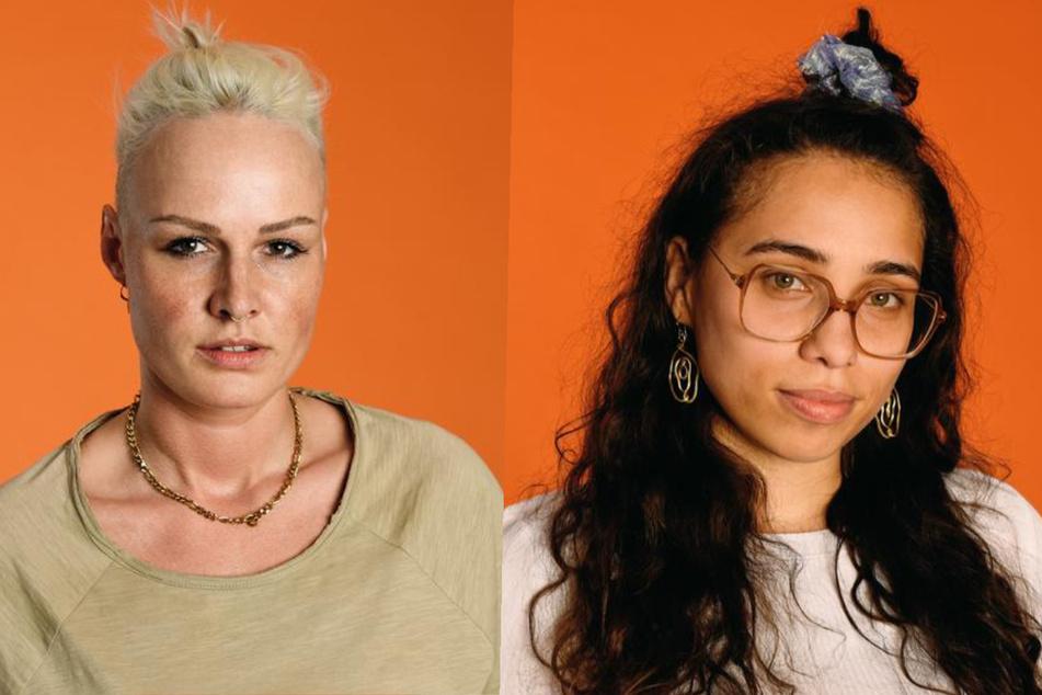 """Die """"Princess Charming""""-Kandidatinnen Ulle (28, l.) und Wiki (27). (Fotomontage)"""