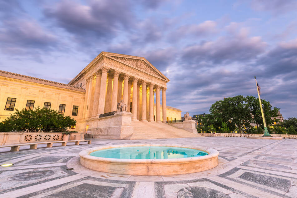The Supreme Court, the highest court in the US, is comprised of nine justices (stock image).