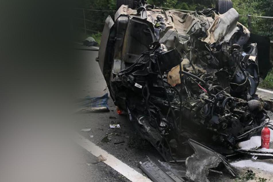 Der 60-Jährige erlitt bei dem dramatischen Unfall schwere Verletzungen.