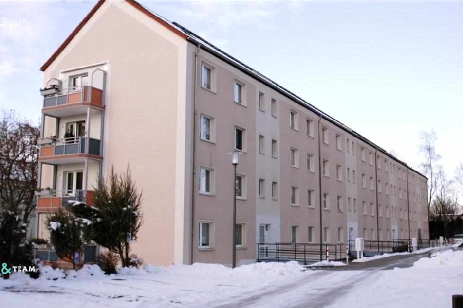 Dieser Wohnblock in Wilkau-Haßlau bei Zwickau wurde altersgerecht umgebaut.