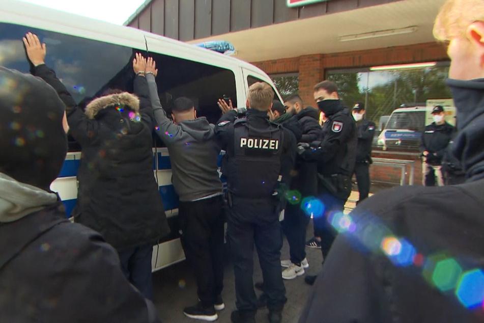 Mehrere Festnahmen bei großer Drogen-Razzia in Hamburg