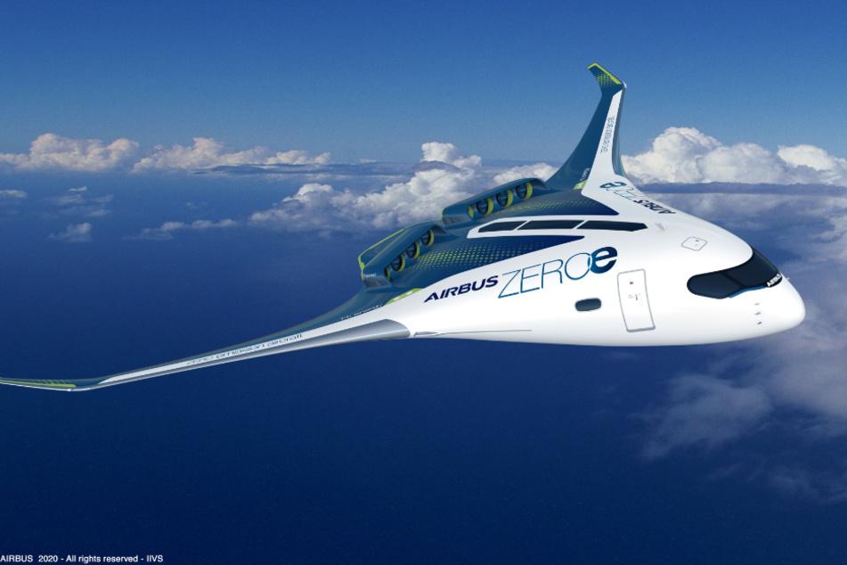 Airbus plant Flugzeug der Zukunft: Sehen wir diesen Jet bald am Himmel?