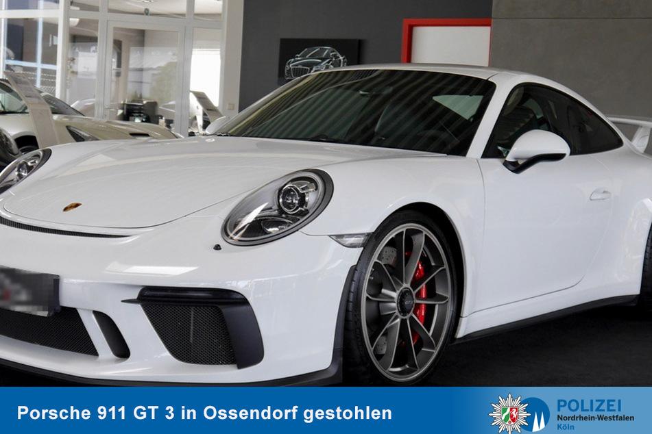 Köln-Ossendorf: Wertvoller Porsche 911 GT 3 gestohlen