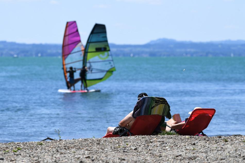Entspannen am Bodensee: Schon im vergangenen Sommer boomte Urlaub in Deutschland - 2021 dürfte es ähnlich sein.